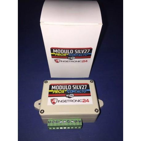 Modulo Control de Acceso y Asistencia Silv27 Prox/Contacto,  de Ingetronic24.
