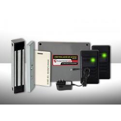 Control De Acceso Dual Y Asistencia Silv27 Ingetronic24 con Cerradura Electromagnética